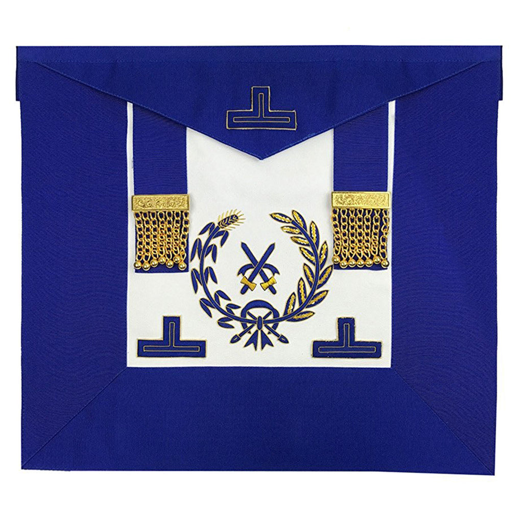 Grand Officers Undress Apron - Bricks Masons