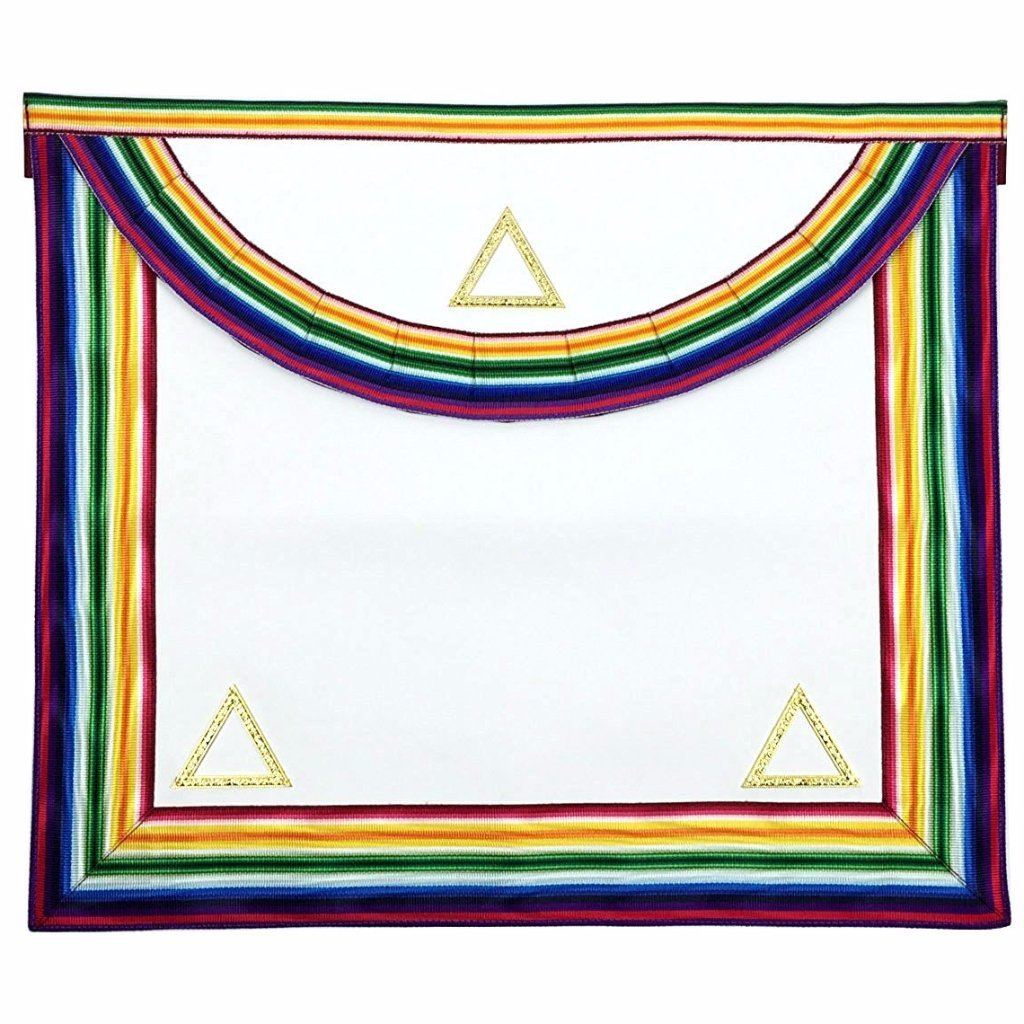 Grand Officers Apron - Bricks Masons