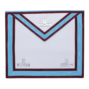 Mark Regalia WM Worshipful Apron - Bricks Masons