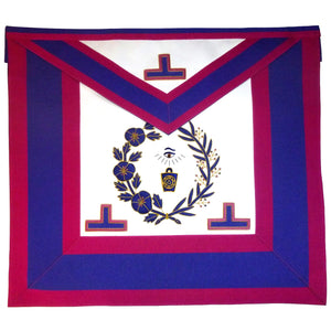 Mark Grand Officers Undress Apron - Bricks Masons