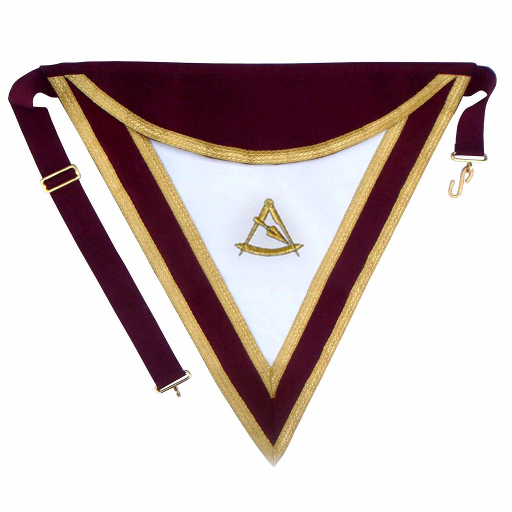 Royal & Select Masters Officer's & Past Master's Apron - Bricks Masons