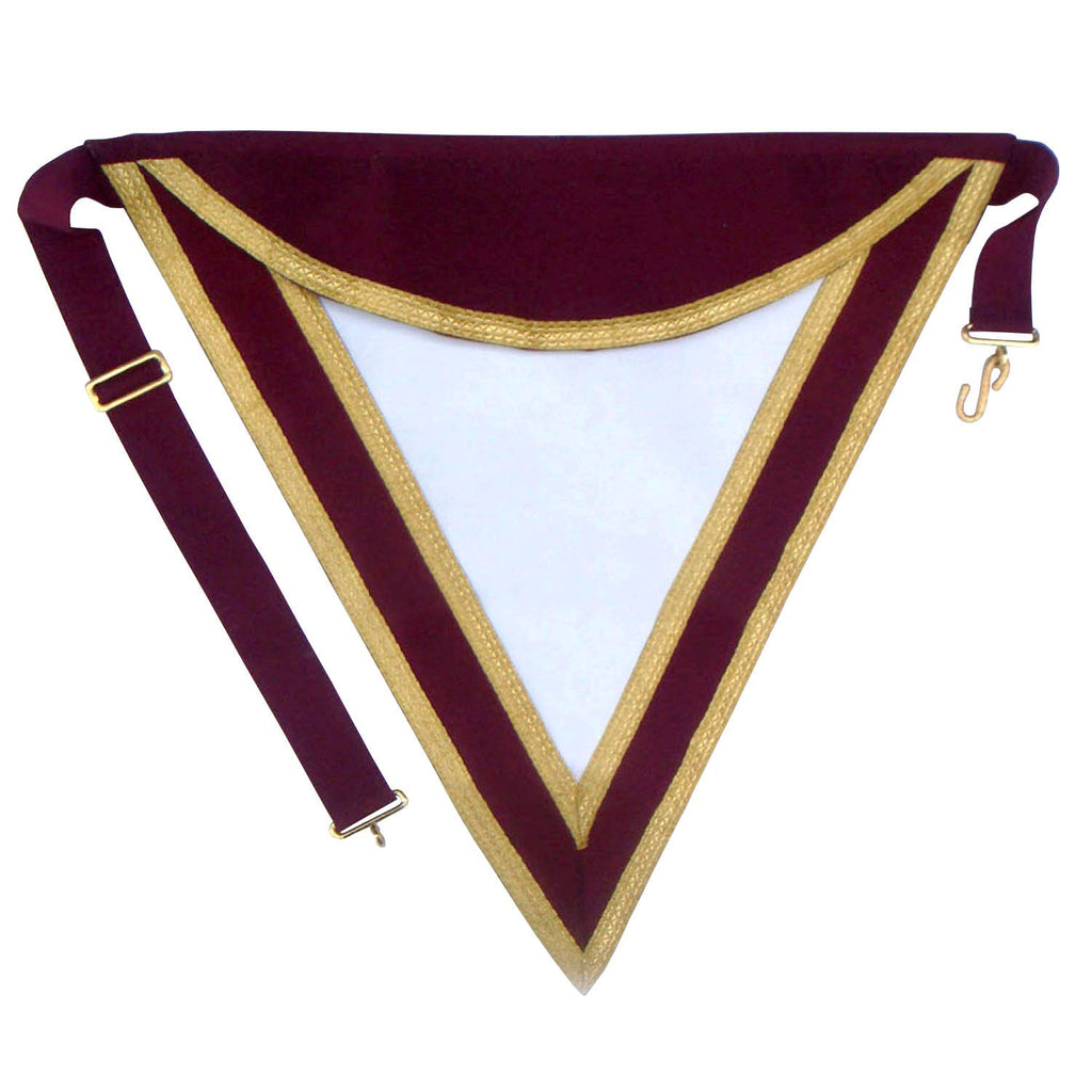 Royal & Select Masters Member's Apron - Bricks Masons