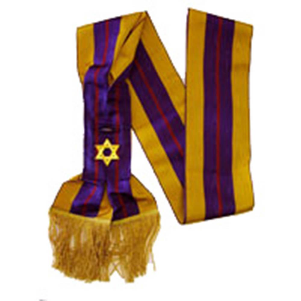 Order Of The Secret Monitor - Member - 2nd Degree Sash - Bricks Masons