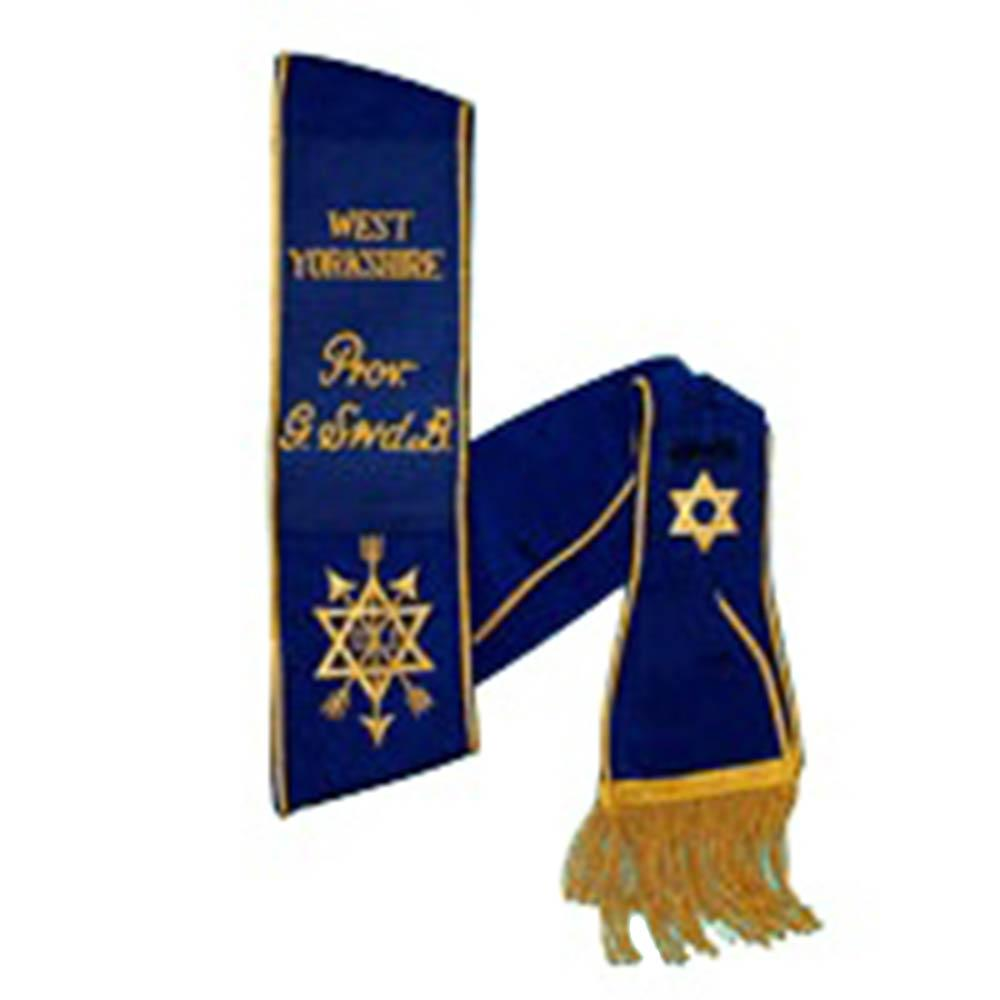 Order Of The Secret Monitor - Provincial - Sash - Bricks Masons
