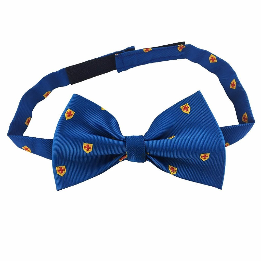 Masonic 100% Silk Knight Templar KT Bow Tie - Bricks Masons