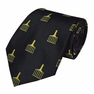 High Quality Masonic Allied Degree Tie - Bricks Masons