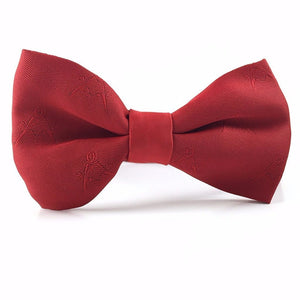 Masonic Bow Tie Red - Bricks Masons