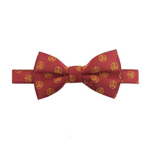 Masonic Royal Arch RA Bow Tie with Taus Red and Yellow - Bricks Masons