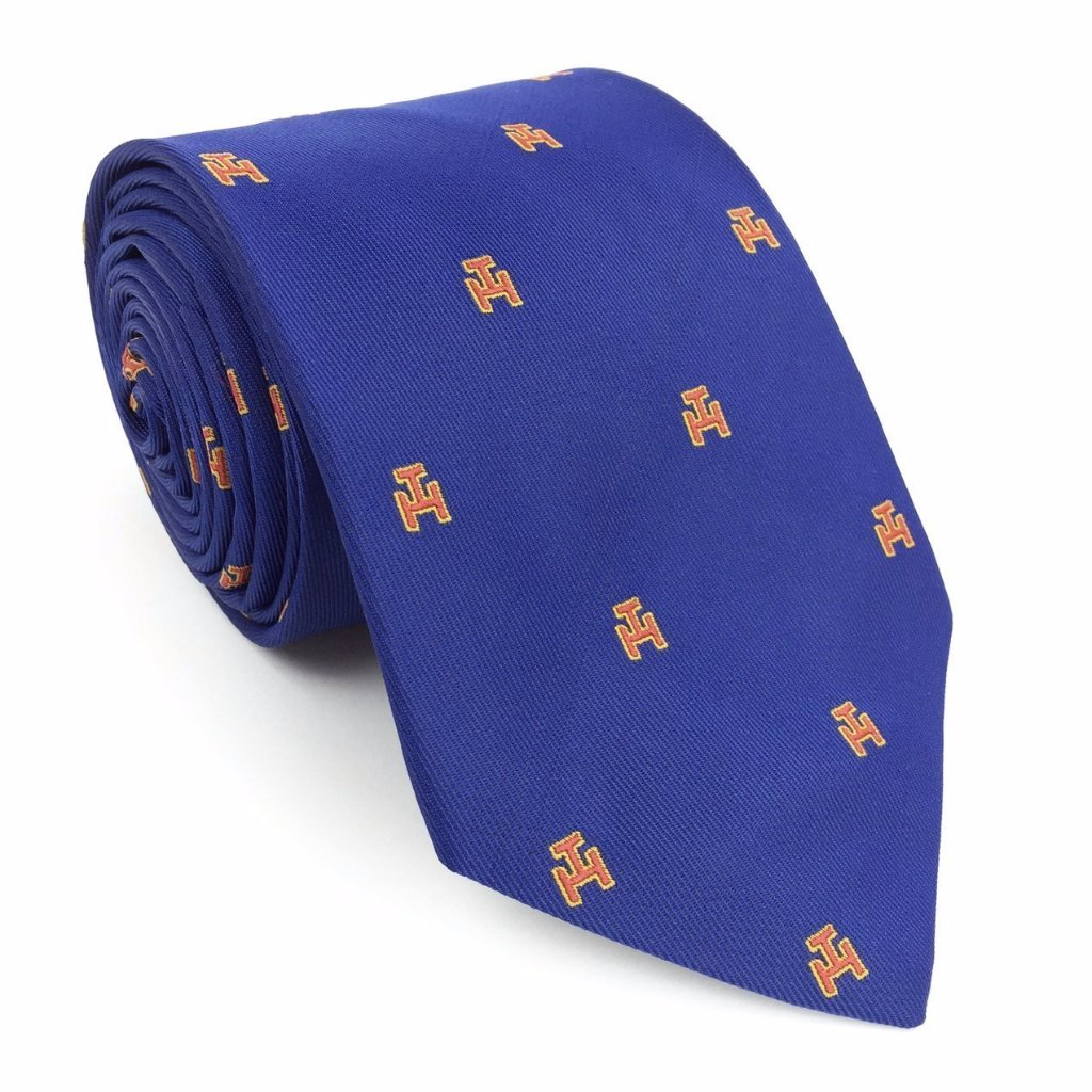 Masonic Royal Arch Tie 100% silk RA Beautiful Masons Gift-Blue - Bricks Masons