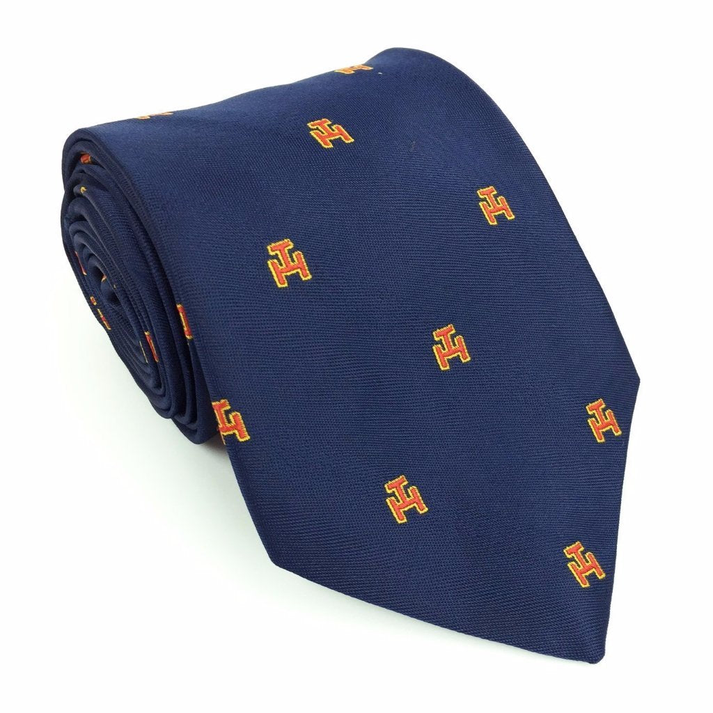 Masonic Royal Arch Tie 100% silk RA Regalia Beautiful Masons Gift-Navy - Bricks Masons