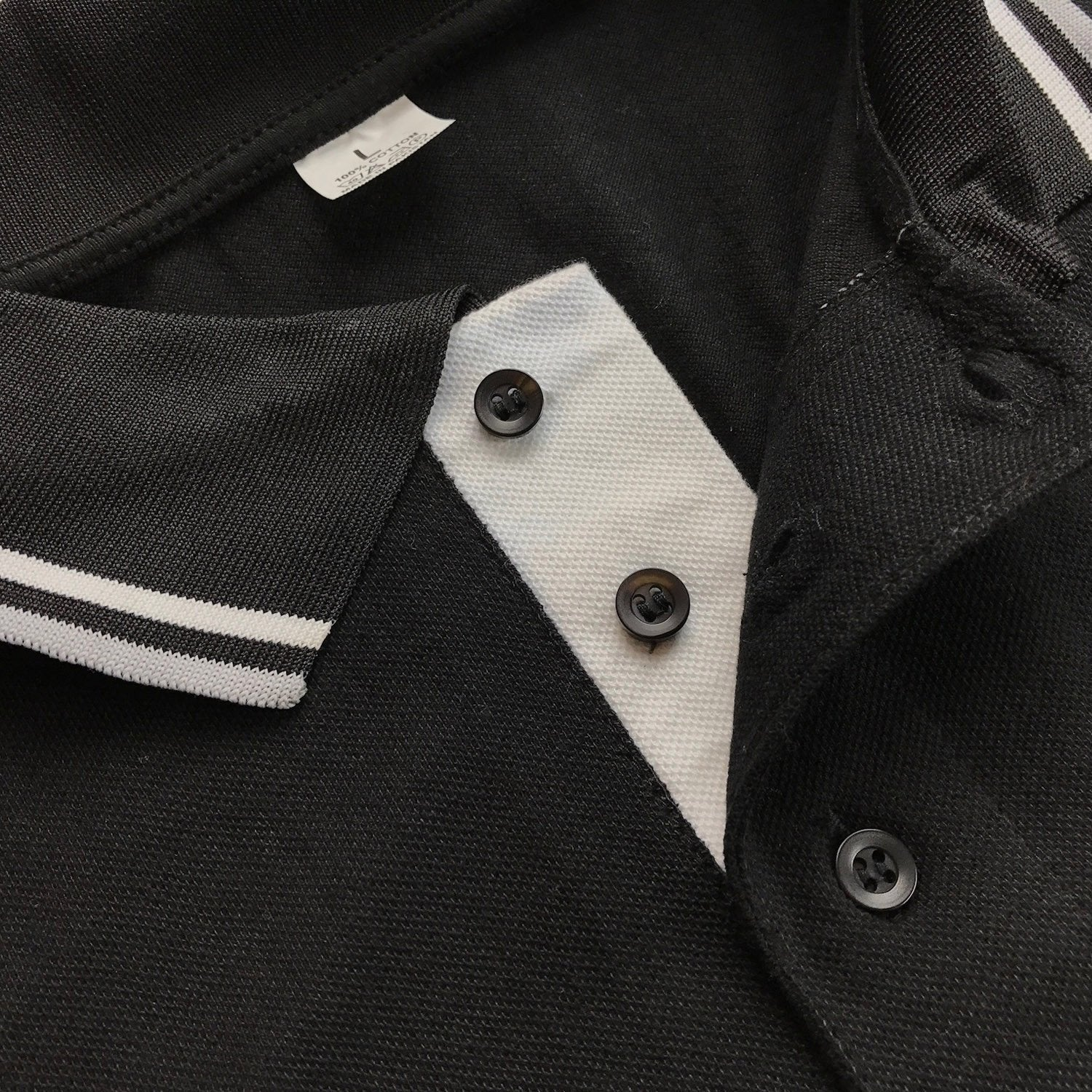Polo Shirt with Square Compass & G Embroidery Logo [Black, Grey, Blue] - Bricks Masons