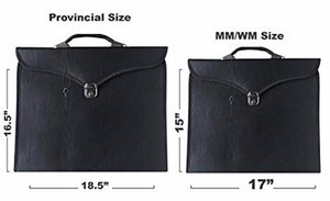 Masonic Regalia Provincial Full Dress Apron Case - Bricks Masons