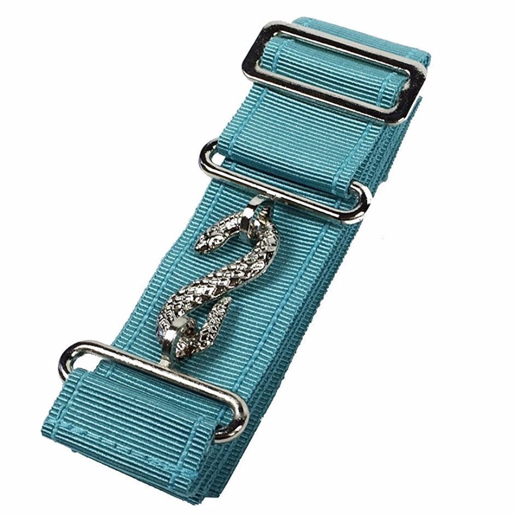 Masonic Belt Extender Sky Blue - Bricks Masons