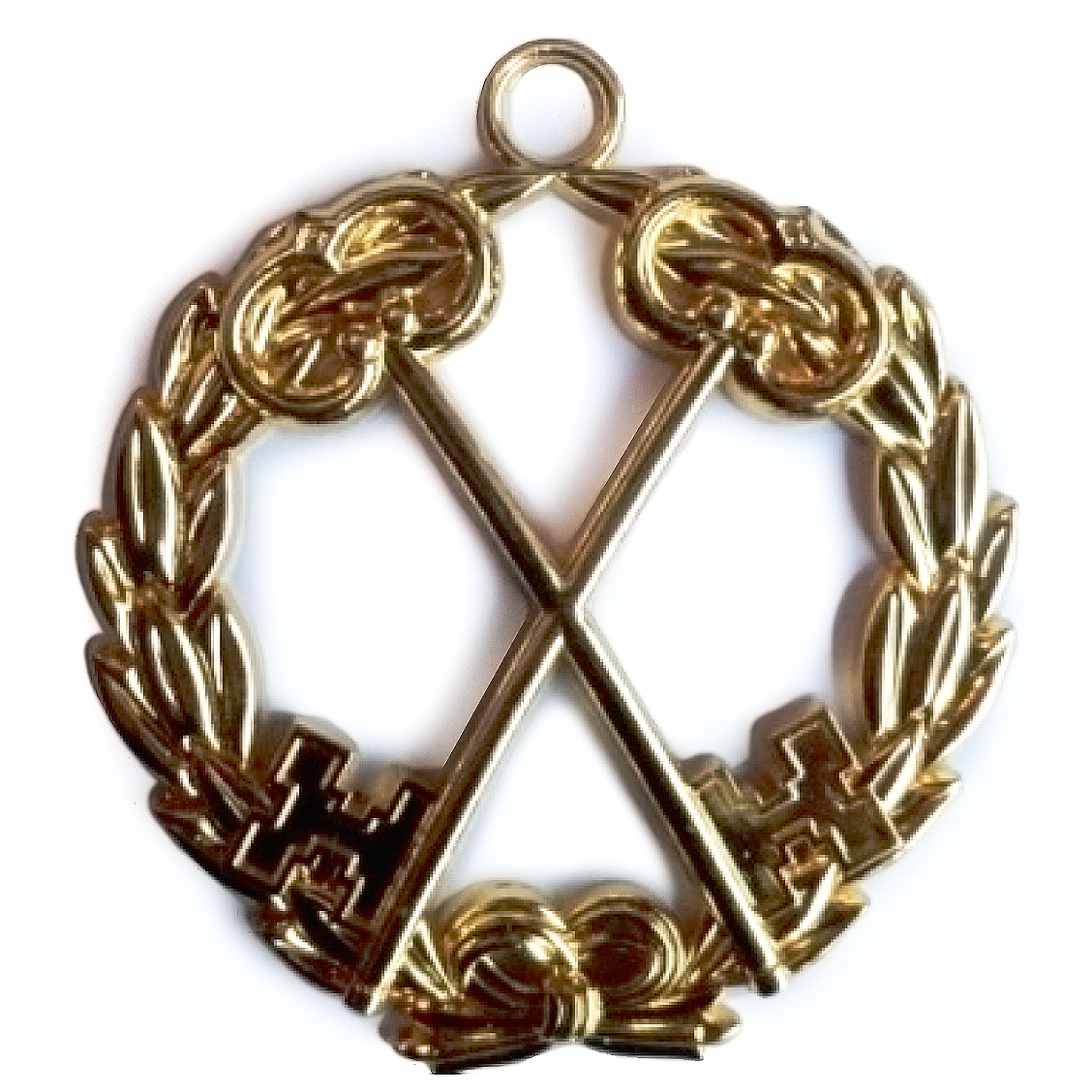 Masonic Regalia Grand Lodge Jewel - Treasurer - Bricks Masons