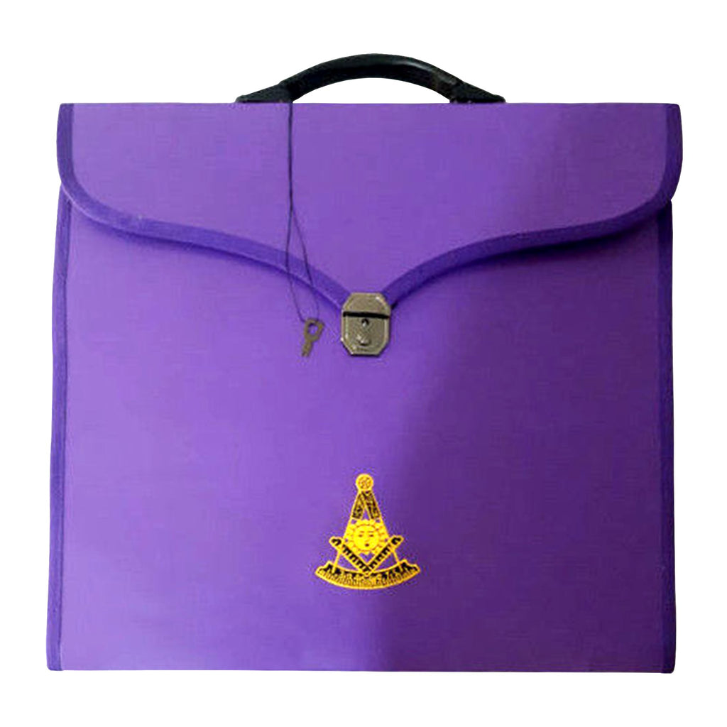 Masonic MM/WM and Provincial Full Dress Purple Cases II - Bricks Masons