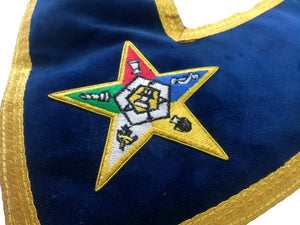 Associate Patron Order of the Eastern Star OES Collar - Bricks Masons