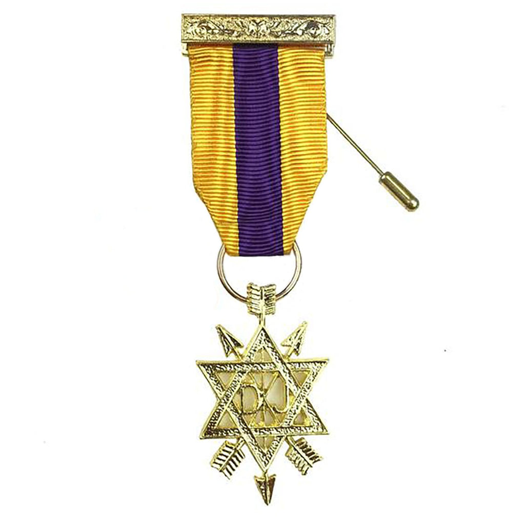 Order of the Secret Monitor 2nd Degree Breast Jewel OSM - Bricks Masons