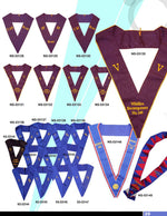 Royal Antediluvian Order of Buffaloes RAOB - Collars - Bricks Masons