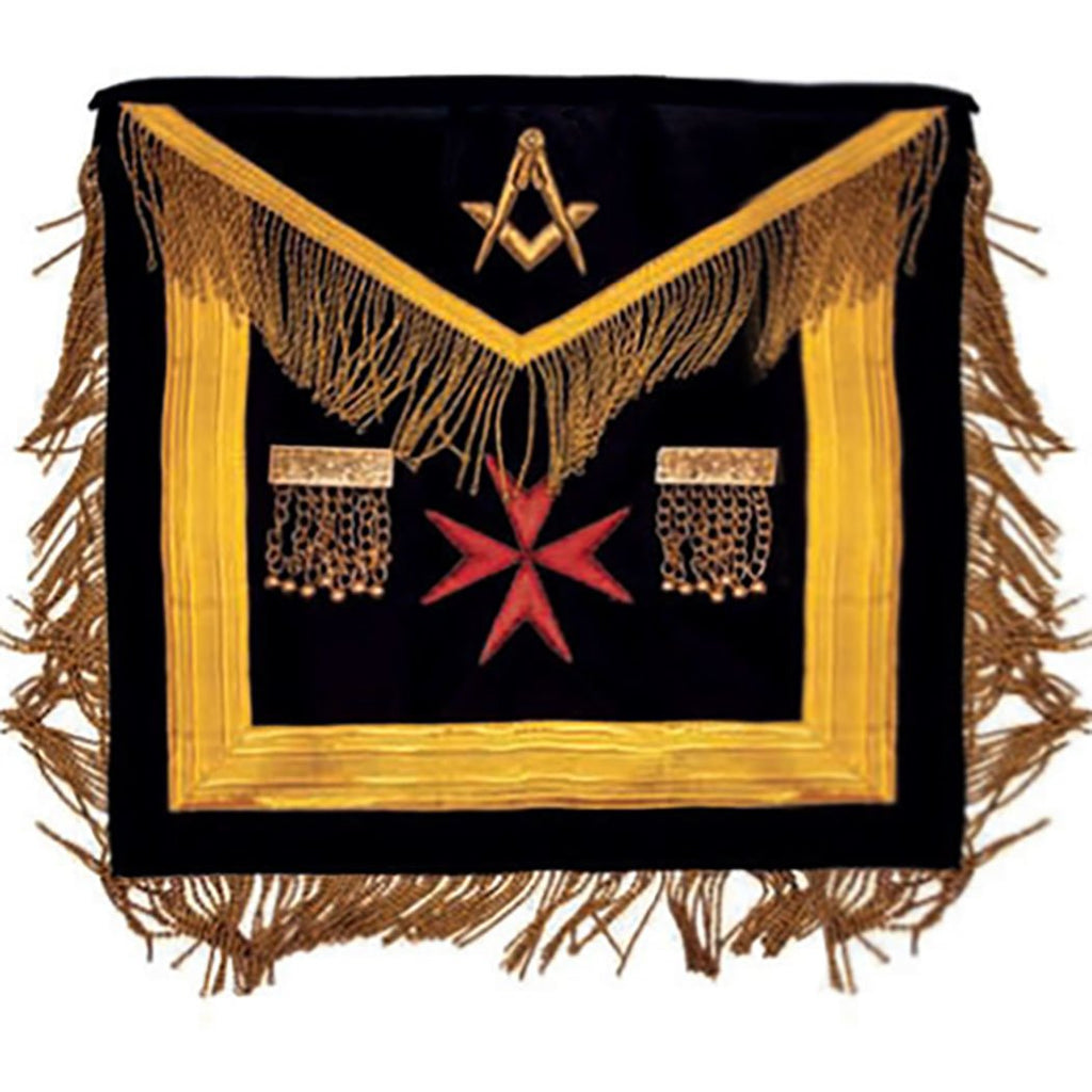 The Sovereign Grand Lodge Of Malta - Right Worshipful - SGLOM Apron - Bricks Masons