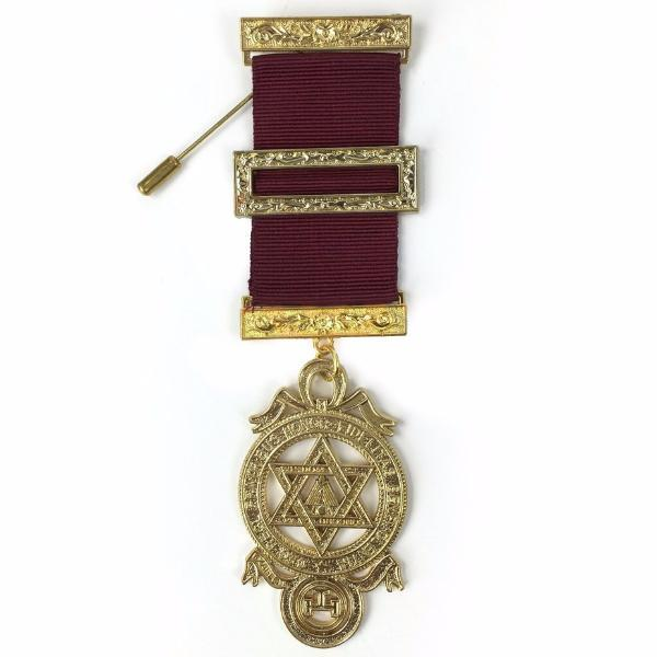 Masonic Royal Arch Principal Breast Jewel - Bricks Masons