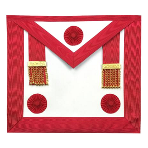 Masonic Scottish Rite Master Mason Apron AASR - Bricks Masons