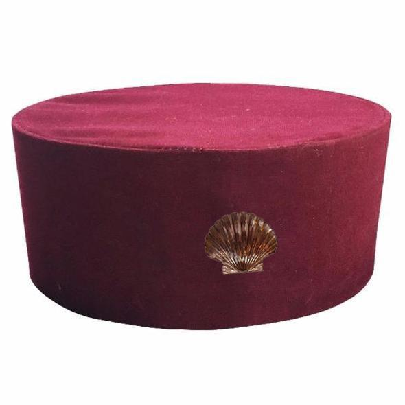Masonic St. Thomas of Acon Cap/Hat with Shell
