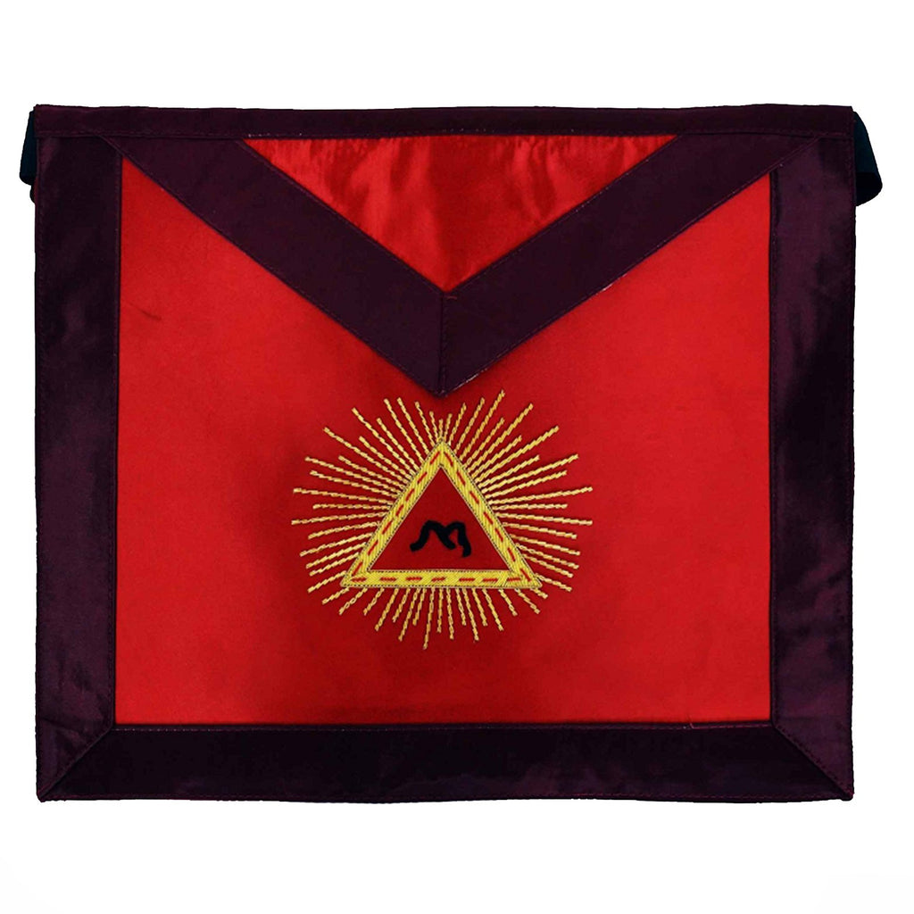 Masonic Scottish Rite Satin apron - AASR - 13th degree - Bricks Masons