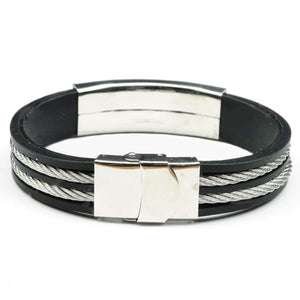 Wire Rubber Masonic Bracelet - Bricks Masons