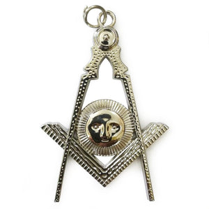 Masonic Collar Silver Jewel - Senior Deacon - Bricks Masons