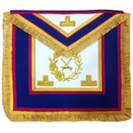 Mark Grand Officers Full Dress Apron - Bricks Masons