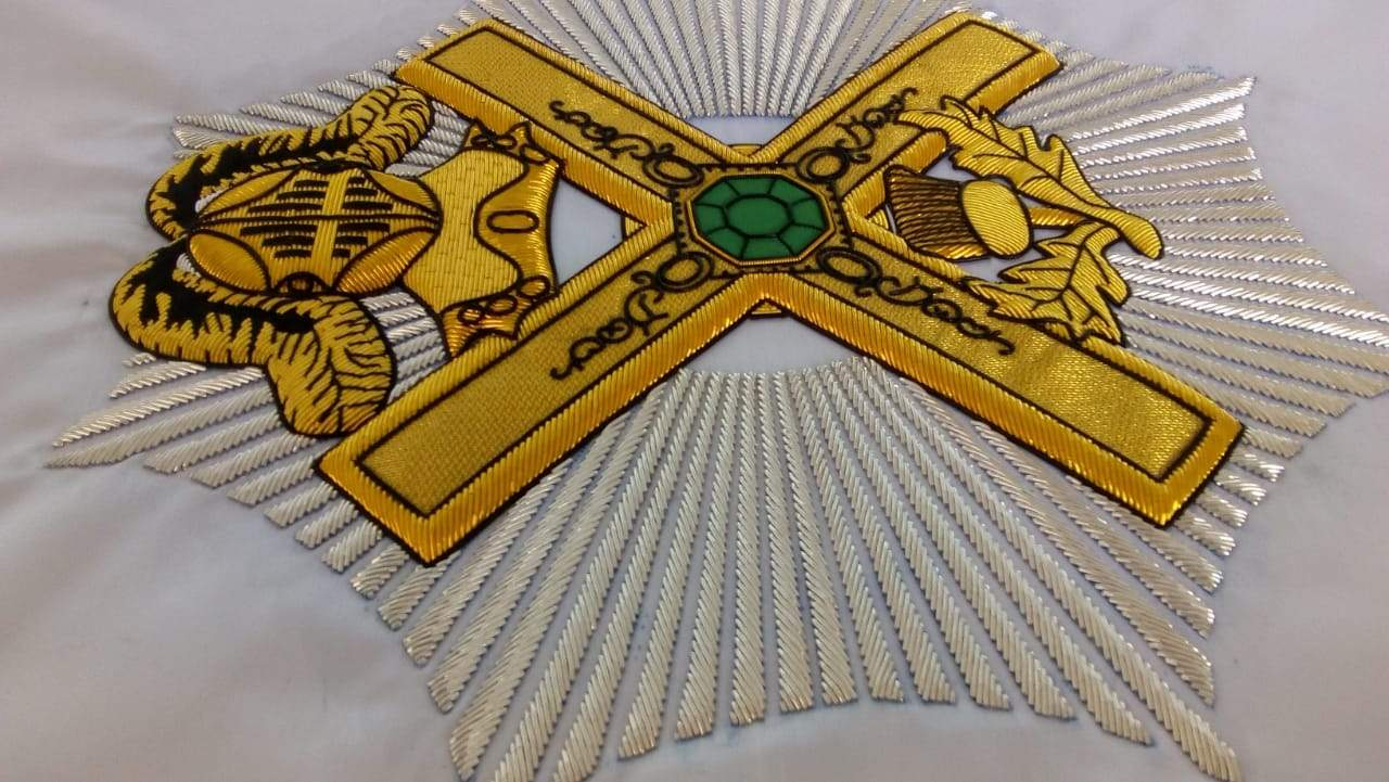 29th Degree Scottish Rite 2'x3' Masonic Banner - Bricks Masons