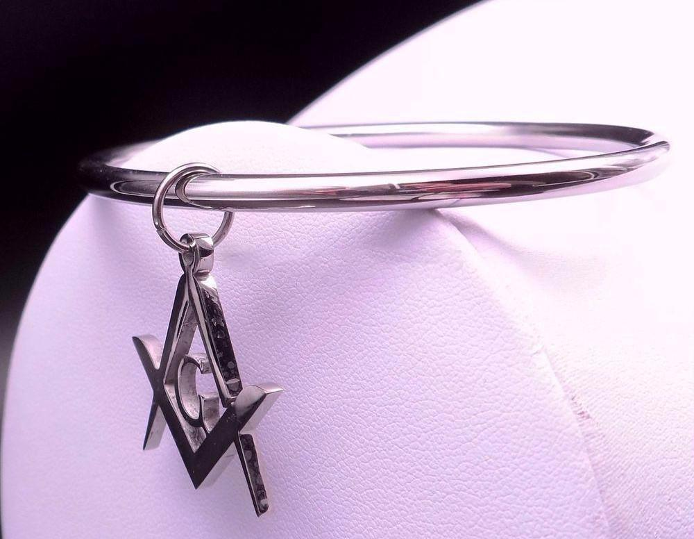 Masonic Charm Bracelet - Bricks Masons