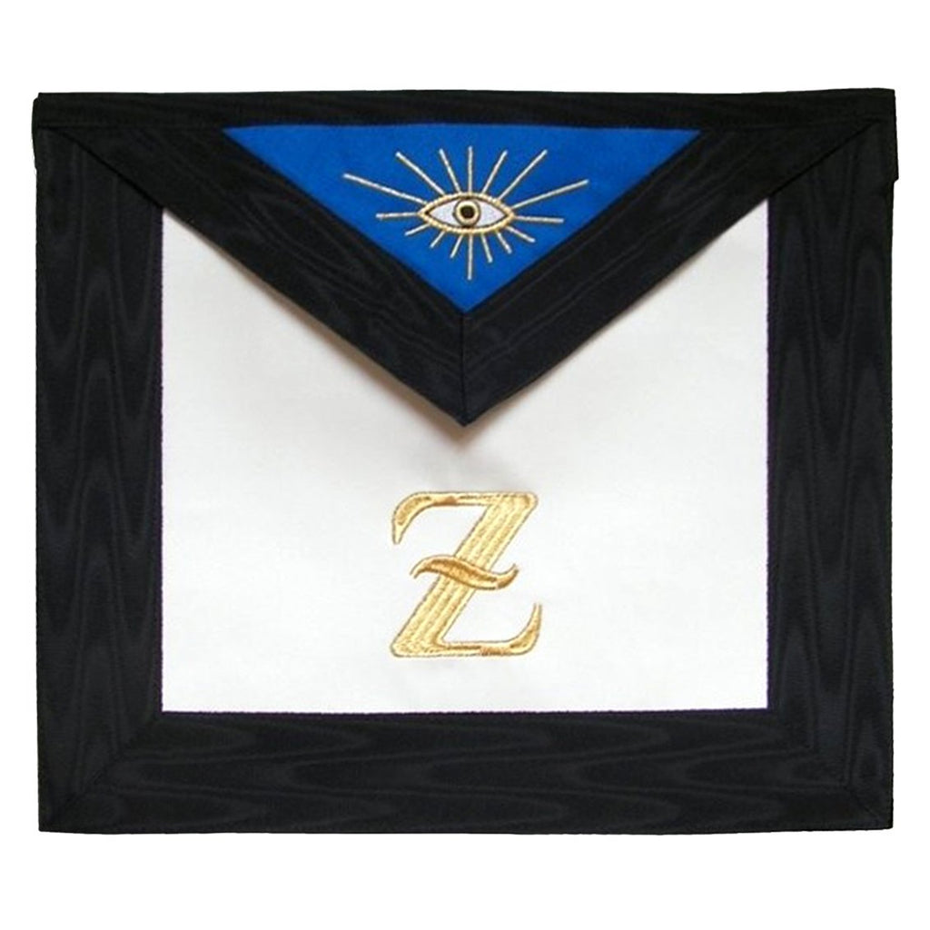 Masonic Scottish Rite Leather Masonic apron - AASR - 4th degree - Bricks Masons