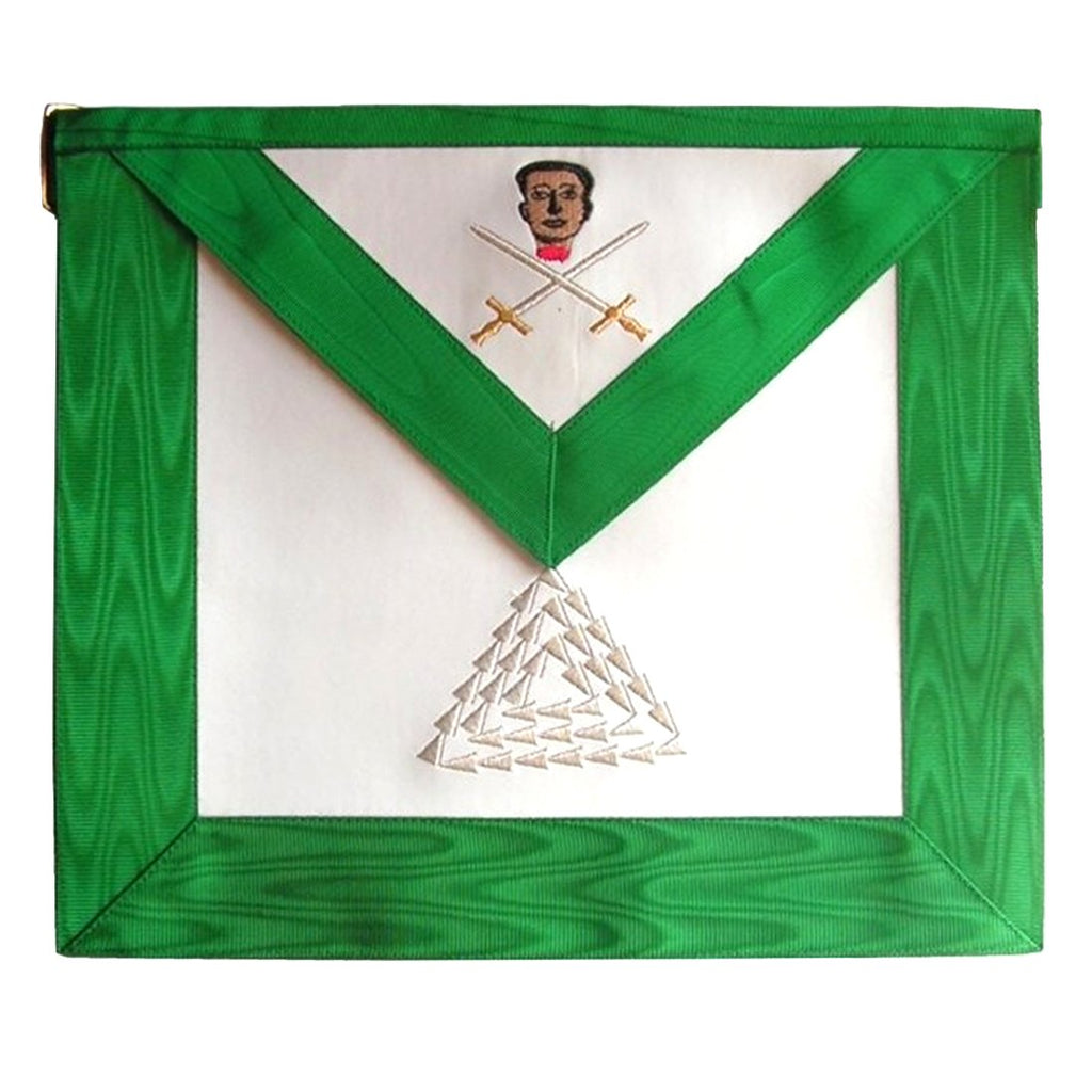 Masonic Scottish Rite apron - AASR - 15th degree - Bricks Masons