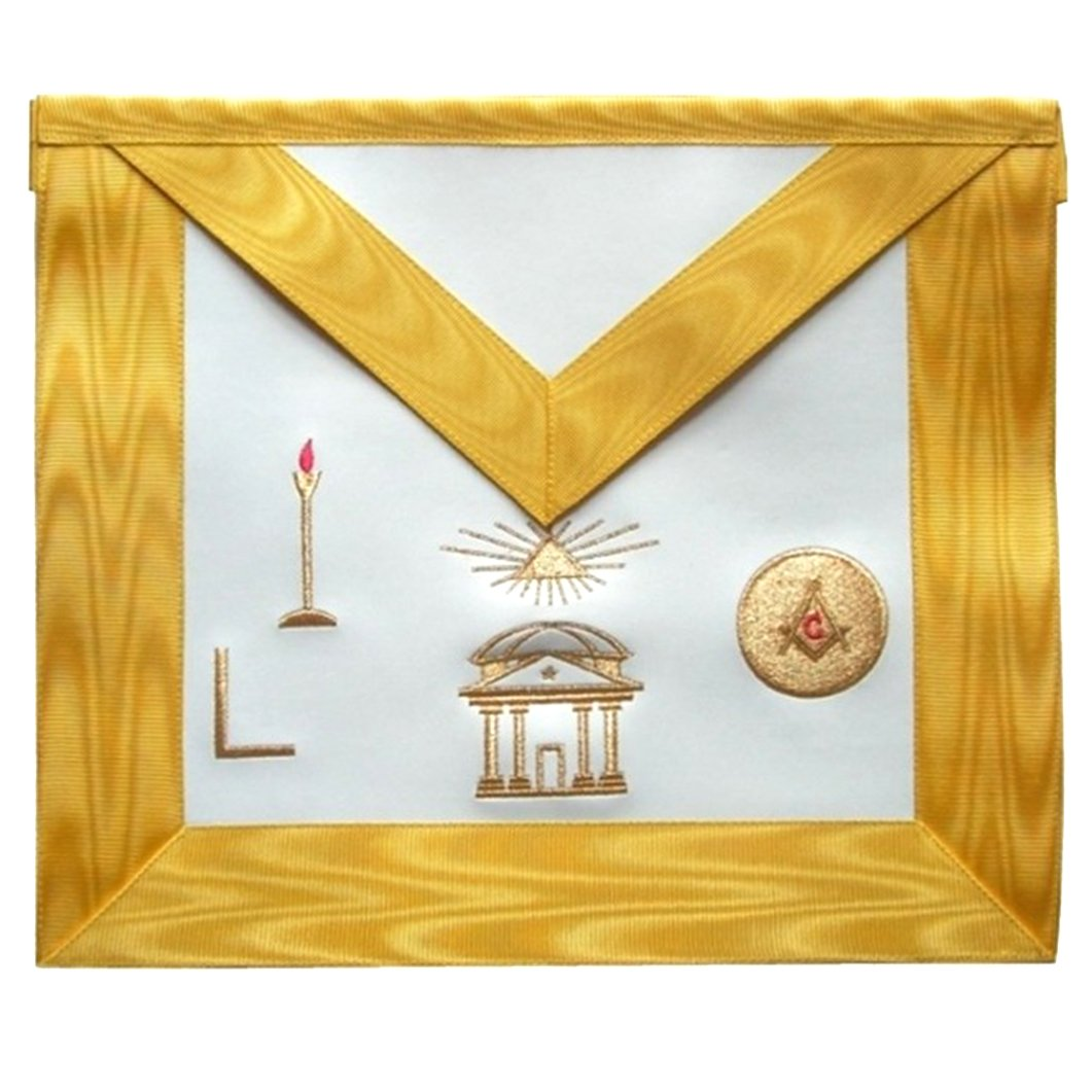 Masonic Scottish Rite apron - AASR - 16th degree - Bricks Masons