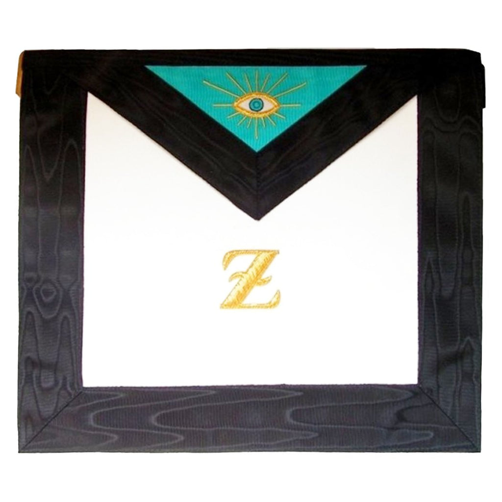 Masonic Scottish Rite Leather Masonic apron - 4th degree - AASR - Bricks Masons