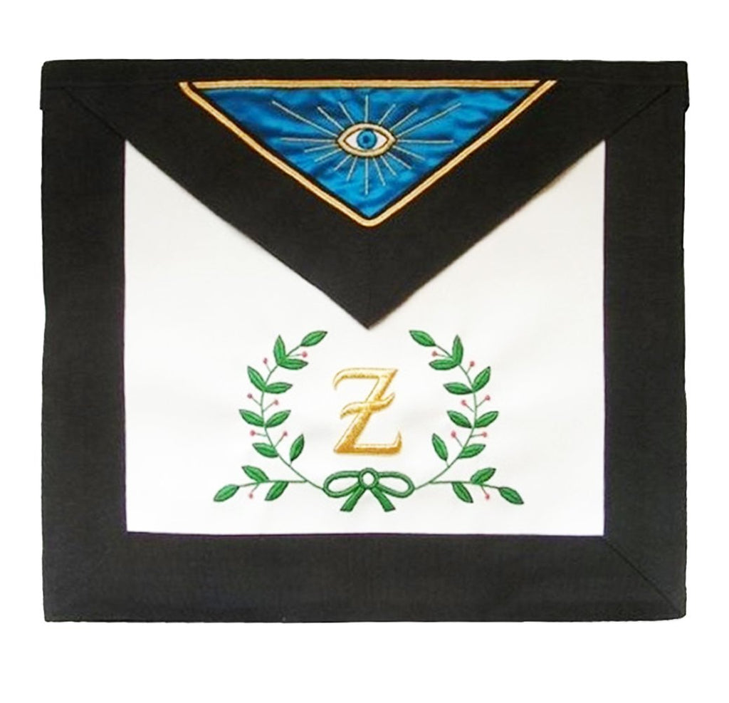Masonic Scottish Rite Leather Masonic apron – AASR – 4th degree – Acacia