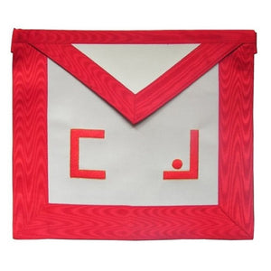 Masonic Scottish Rite Apron - AASR - Master Mason - Masonic letters - Bricks Masons