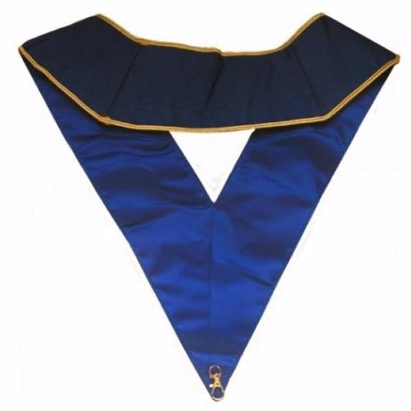 Masonic collar - AASR - Thrice Powerful Master - Machine embroidery - Bricks Masons