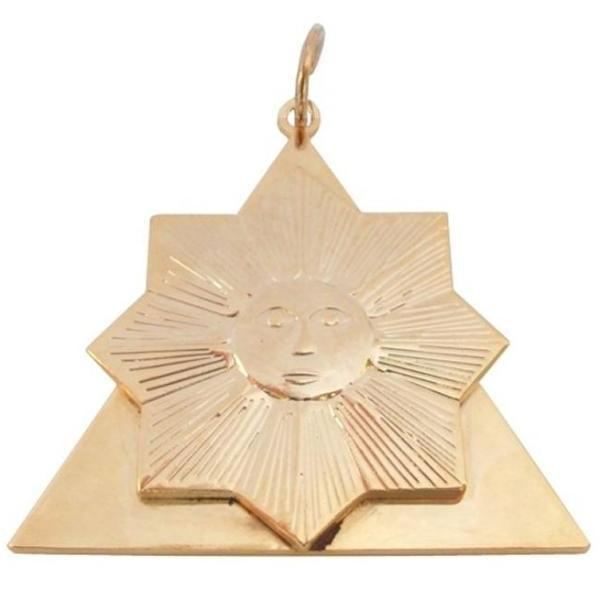 Masonic Collar Jewel Memphis Misraim Knight of the Sun - 28th degree - Bricks Masons