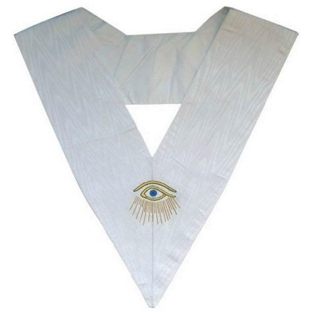Masonic Memphis Misraim Collar Eye with Rays- 28 Degree - Bricks Masons