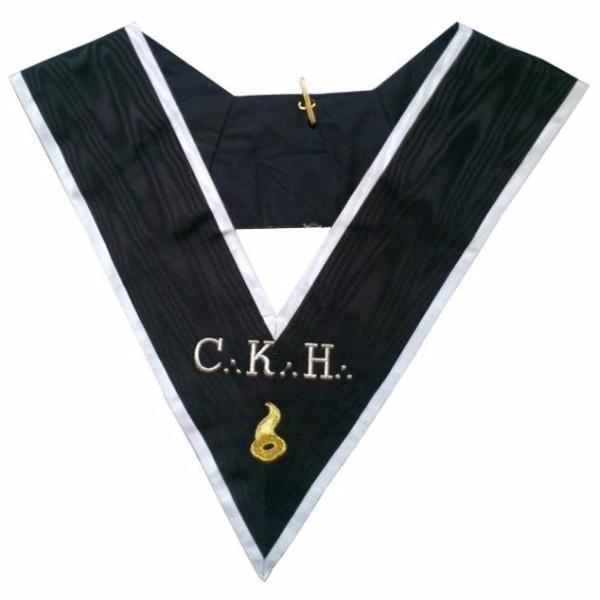 Masonic Officer's collar - ASSR - 30th degree - CKH - Grand Maître des Banquets - Bricks Masons
