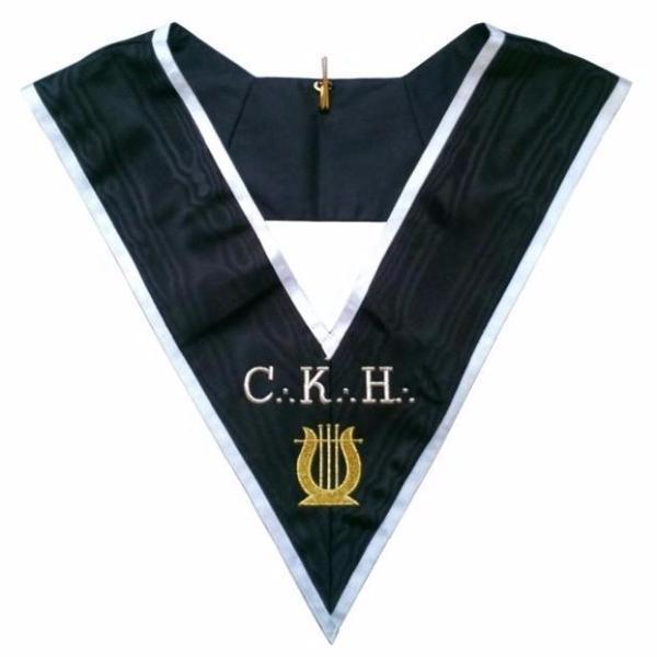 Masonic Officer's collar - ASSR - 30th degree - CKH - Grand Organiste
