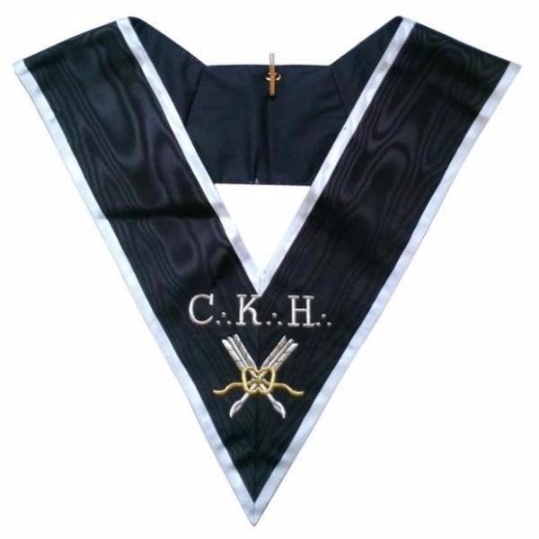 Masonic Officer's collar - ASSR - 30th degree - CKH - Grand Secrétaire - Bricks Masons