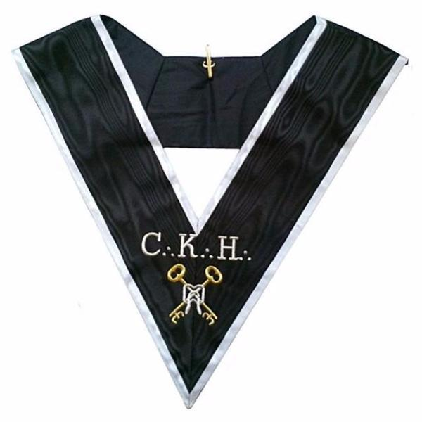 Masonic Officer's collar - ASSR - 30th degree - CKH - Grand Trésorier