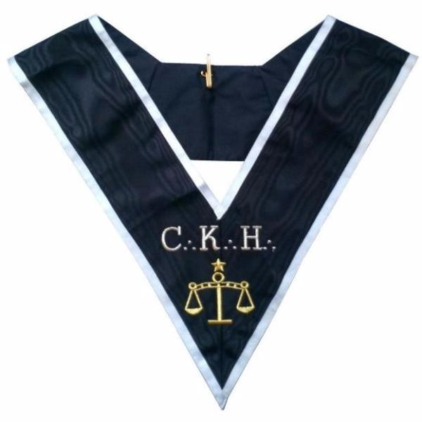 Masonic Officer's collar - ASSR - 30th degree - CKH - Premier Grand Juge