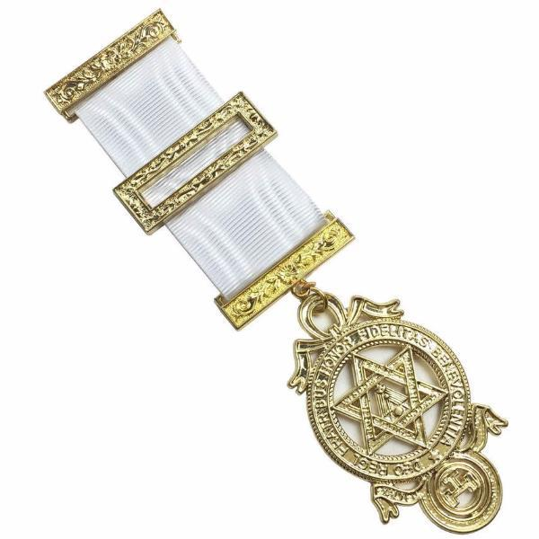 Masonic Royal Arch Companions Breast Jewel - Bricks Masons