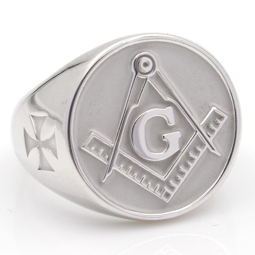 Custom and Personalized Masonic Sterling Silver Rings