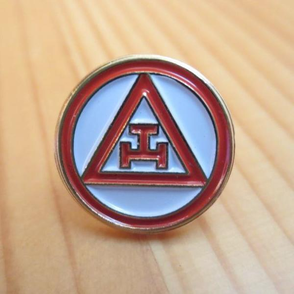 Royal Arch Triple Tau Masonic Lapel Pin