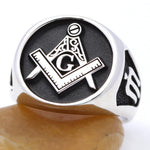 Entered Apprentice Sterling Silver Masonic Ring